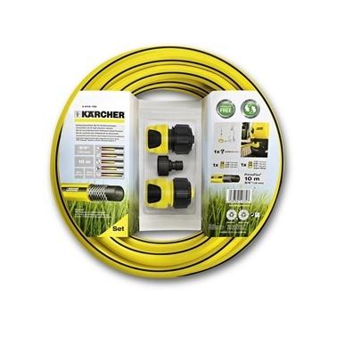 Karcher Basınçlı Yıkama Makinesi ve Bahçe Sulama Hortum Seti Renkli